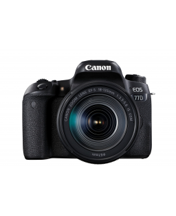 CANON EOS 77D + EFS 18-135 IS USM