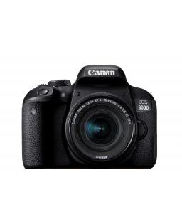 CANON EOS 800D + EFS 18-55/4,0-5,6 IS STM
