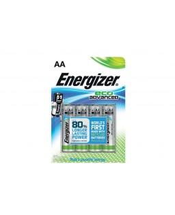 ENERGIZER AA 1,5V 4 PAK ECO ADVANCED
