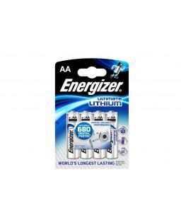 ENERGIZER AA 1,5V 4 X LITHIUM