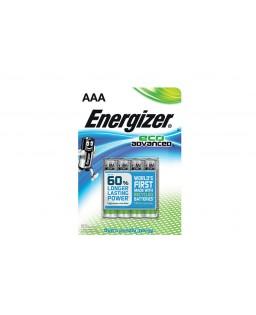 ENERGIZER AAA 1,5V 4 PAK ECO ADVANCED