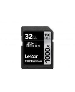LEXAR SDHC 32 GB PROFESSIONAL 1000X 150 MB/S