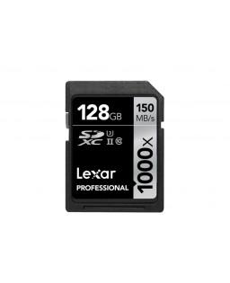 LEXAR SDXC 128 GB PROFESSIONAL 1000X 150 MB/S